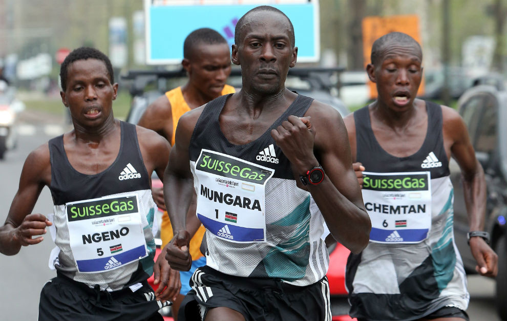 Defending champion 45-year-old Kenneth Mburu Mungara wants to defend his title at Kong Kong marathon this weekend