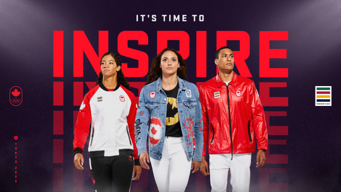 Internet has reacted to Team Canada's Tokyo 2020 jackets