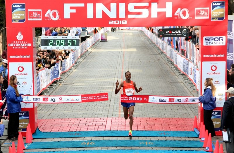 Kenyan Felix Kimutai set a course record of 2:09:57 at the Istanbul Marathon last year, and this year he aims to retain Instanbul Marathon title
