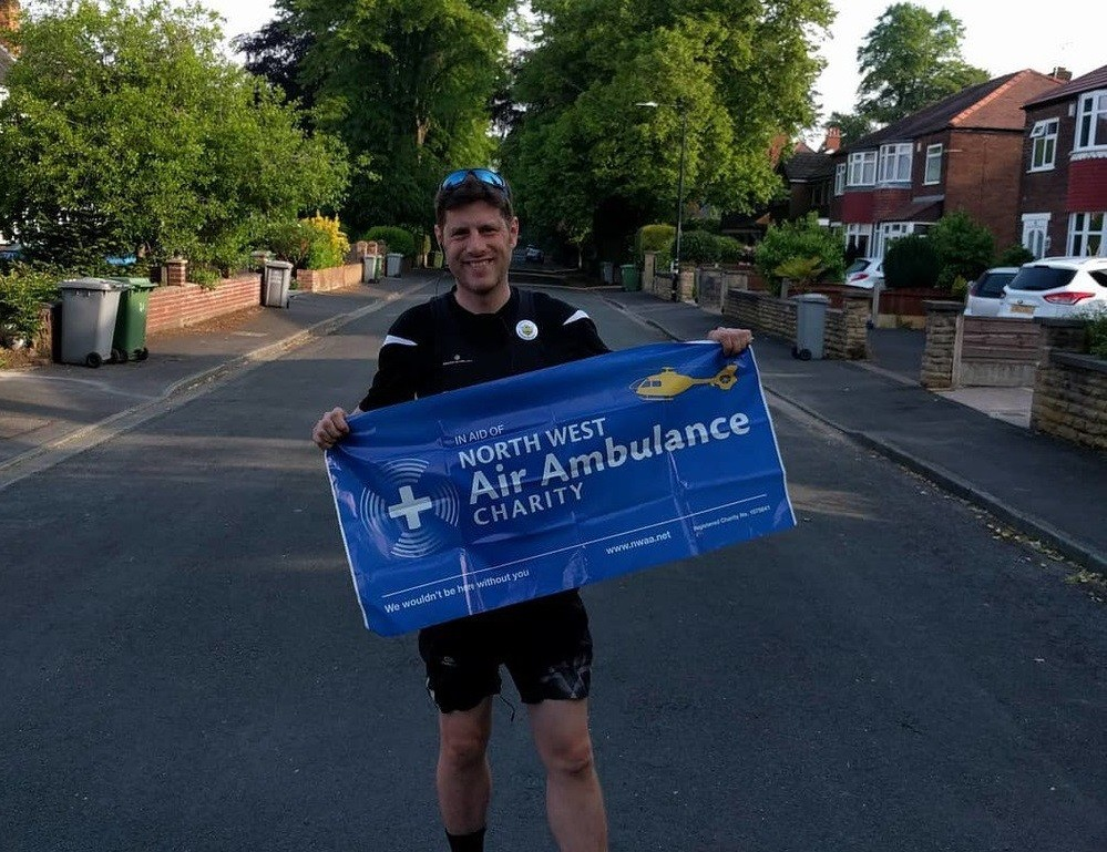 An ultra-marathon runner is set to make a 63-mile heart-shaped route around Manchester as a unique tribute to victims of the Manchester Arena attack.