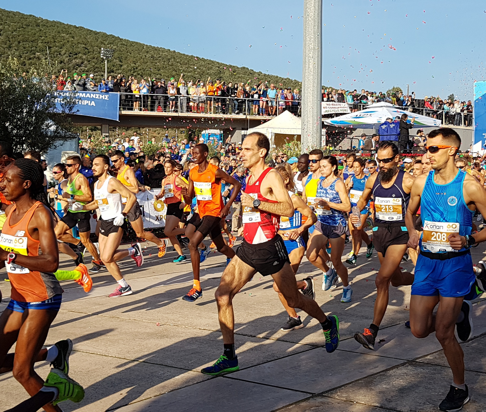 Athens Marathon cleared to proceed as mass participation event in November