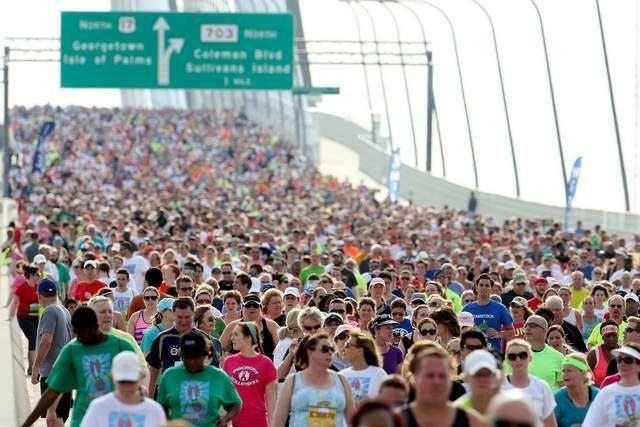 Cooper River Bridge Run was named the top South Carolina tourism event of the year