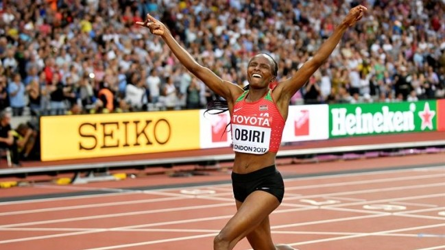 Hellen Obiri has announced she will compete in both the 5k and 10k races at the IAAF World Athletics Championships in Doha