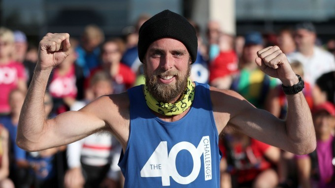 Ben Smith sold his possessions and set off to run 401 marathons in 401 days