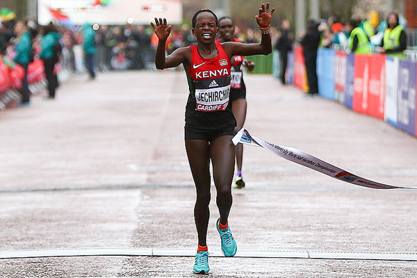 Former world half marathon record holder Peres Jepchirchir targets Boston conquest after recovery from fatigue and muscle cramp problems