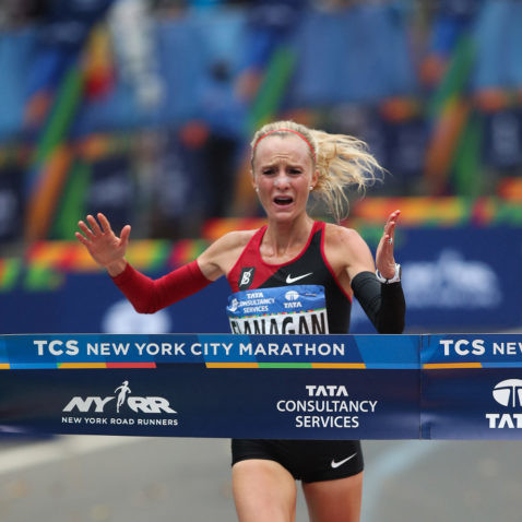 Shalane Flanagan has been toying with the idea of retirement, but her retirement will have to wait until after this year's New York City Marathon