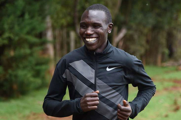 Kenyan Geoffrey Kamworor says that he will be training hard until coronavirus pandemic is over