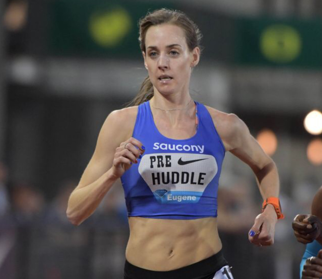 Molly Huddle is going after her 4th consecutive 10,000m Title