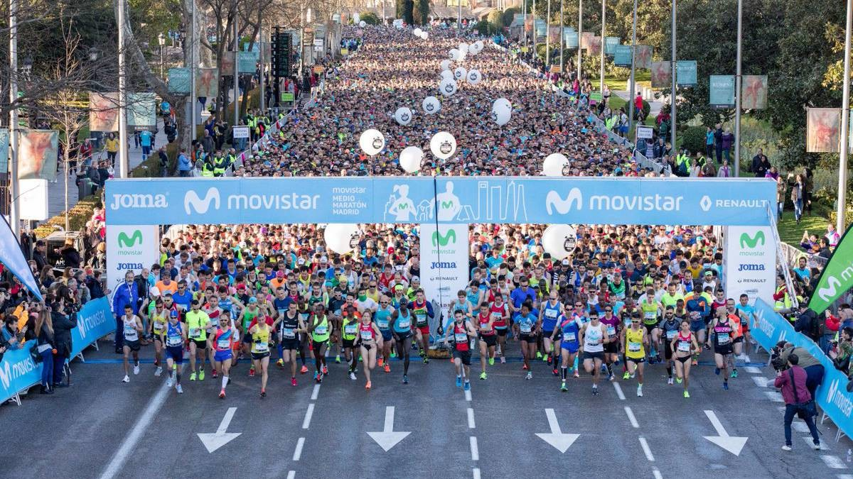 World Athletics awards the Silver Label to the Madrid Half Marathon