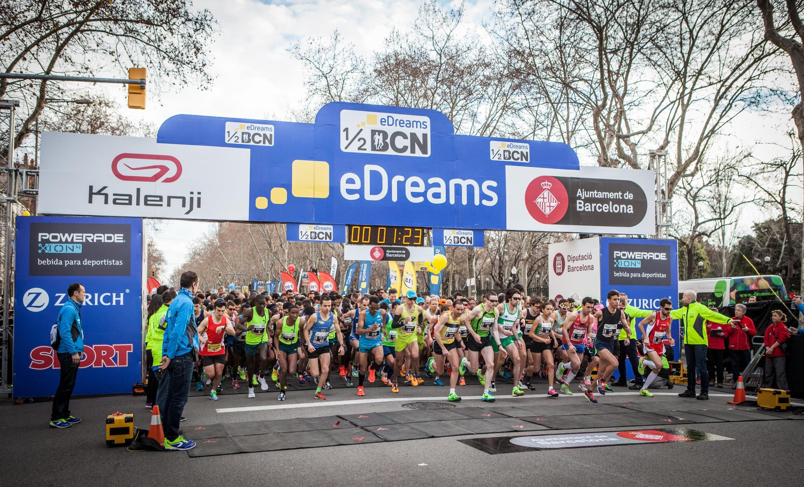 Mitja Marato Barcelona will be upgraded as an IAAF Gold Label road race