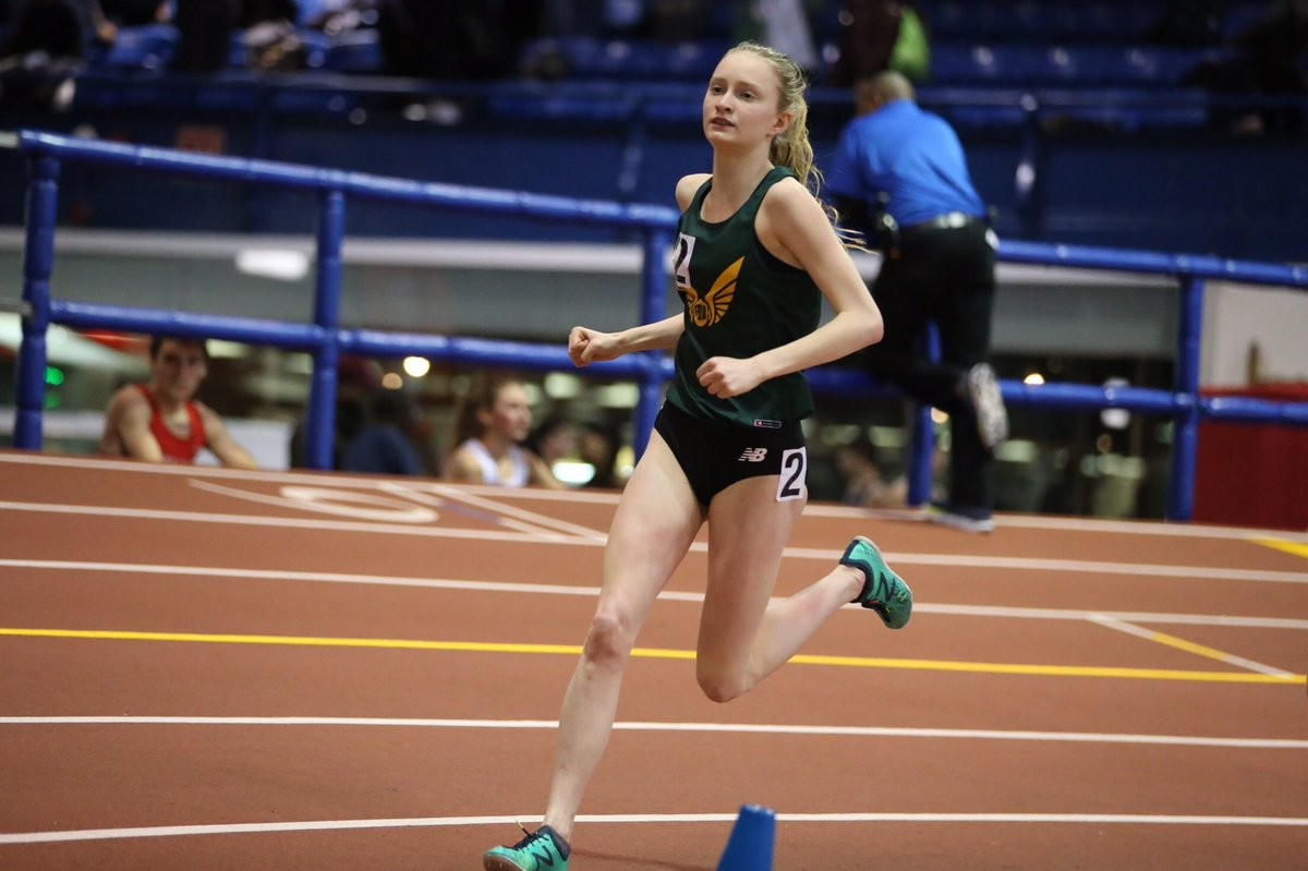 Sarah Trainor has her focus set on the Millrose Indoor Games Coming up