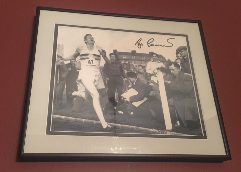 Jim Ryun and family mourns the passing of this giant of a man - Dr Roger Bannister