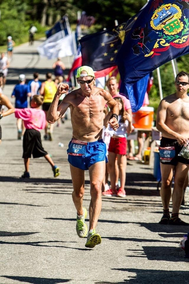 Hitting the wall, what to eat and your longest training run were the first three questions for Marathon Man Gary Allen File 2