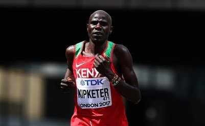 Kenya's Gideon Kipketer will lead the hunt for gold at this Sunday's Amsterdam Marathon in the Netherlands