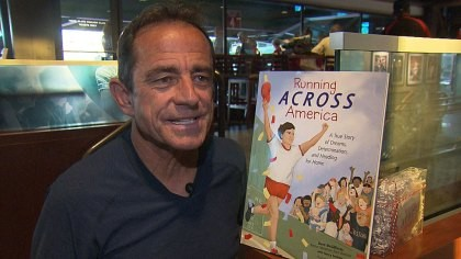 Boston Marathon race director Dave McGillivray new book is an inspiring challenge for young readers