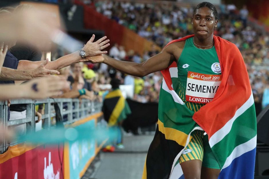 For the third year in a row, Caster Semenya went undefeated in the 800 meters