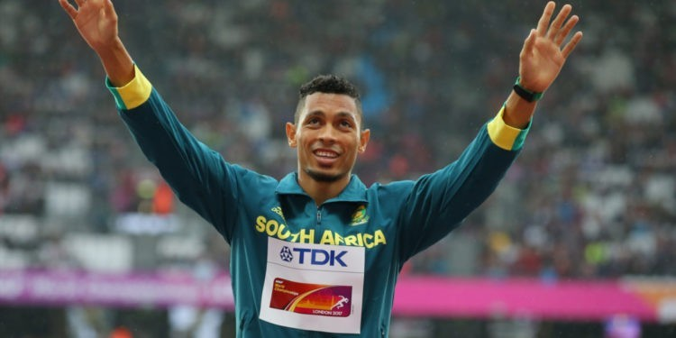 400m world record holder Wayde van Niekerk of South Africa will not defend his title at the IAAF World Championships in Doha, Qatar, as he continues to recover from a knee injury