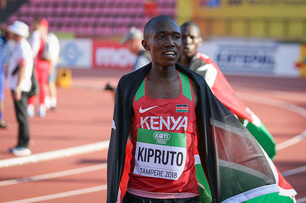 10km world record holder Rhonex Kipruto is set to make his half marathon debut in Valencia