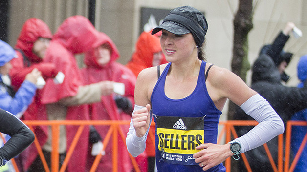 Sarah Sellers has confirmed she will be running the 2019 Boston Marathon