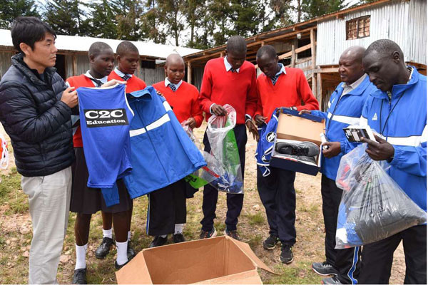 Kapsait Athletics Training Camp in Elgeyo-Marakwet County, moulds future stars