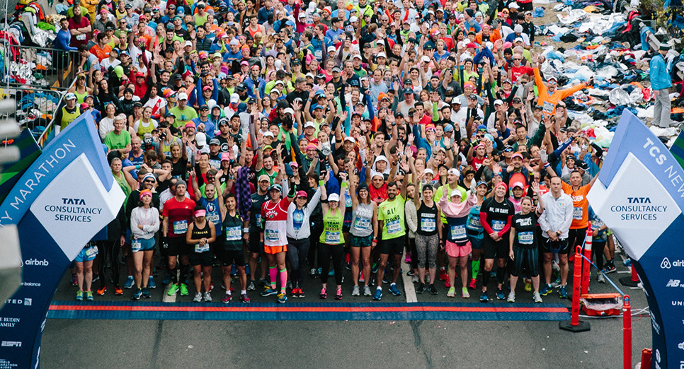 A record-breaking number of applicants have entered to run the 20th Annual 2020 TCS New York City Marathon