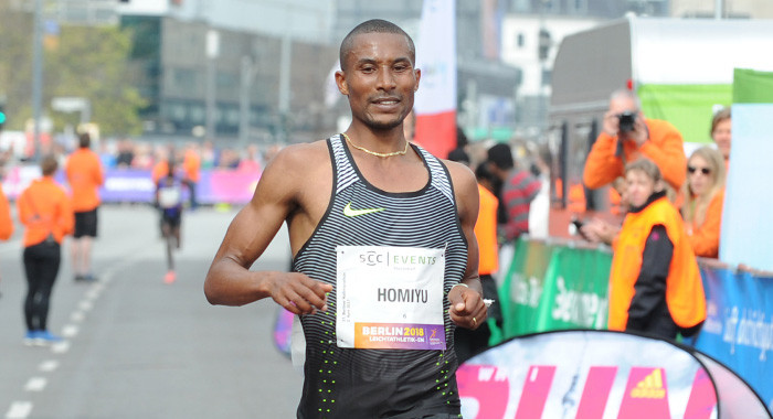 Ethiopian-German middle- and long-distance runner Homiyu Tesfaye will be among the elite men´s field at the Haspa Hamburg Marathon