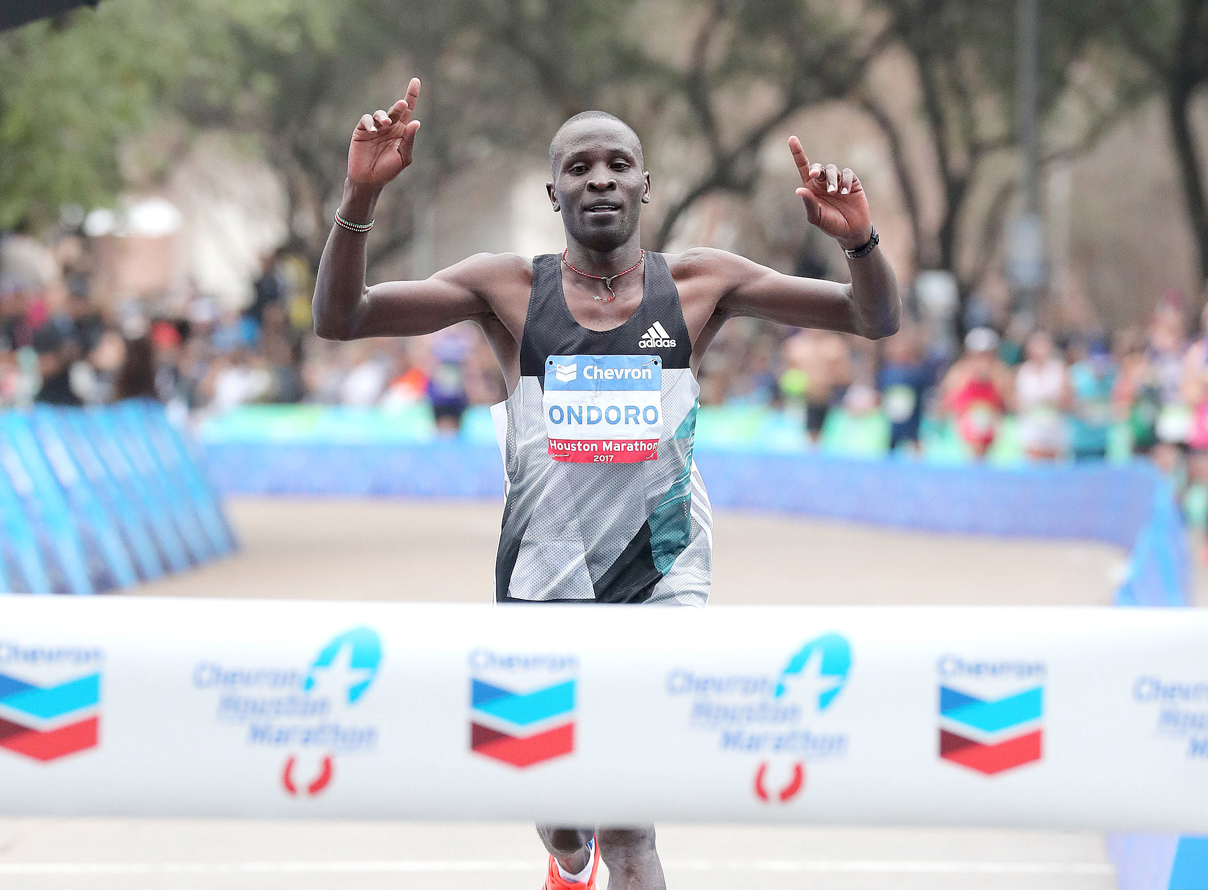 Kenya's champion Dominic Ondoro returns to Houston Marathon eyeing to reclaim his title