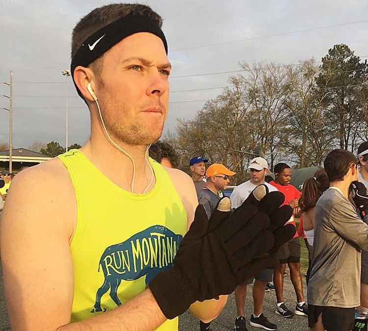 Focused and ready to run, Dr. Daniel Bridge qualifies for the elite Boston Marathon field