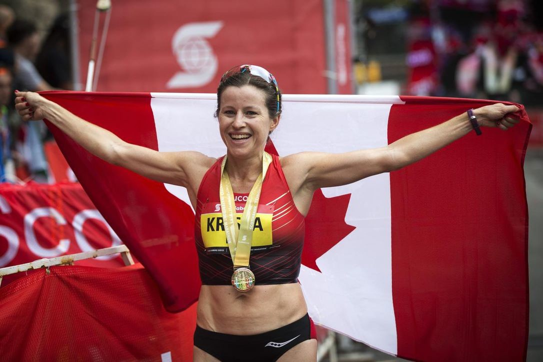 Canadian Krista DuChene is feeling good and excited for her first Berlin Marathon