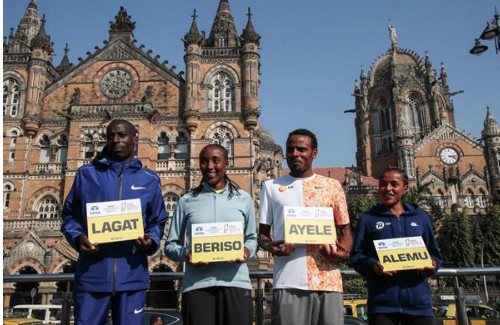 Lagat and Alemu back to defend Mumbai titles