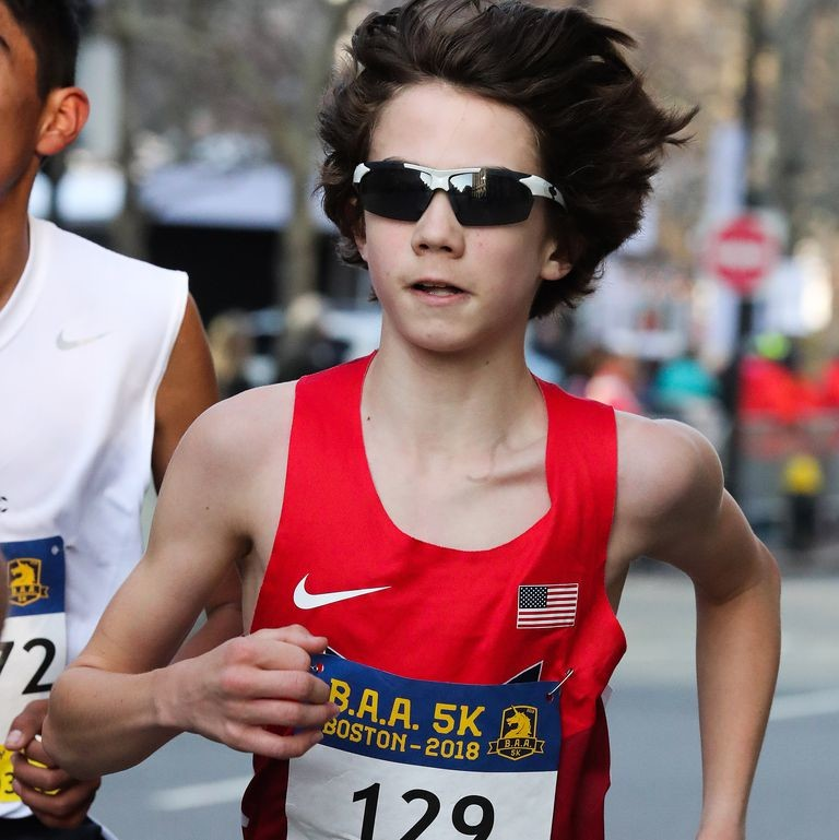 Aidan Puffer broke the world 5k record clocking 15:47 for 13 year-olds
