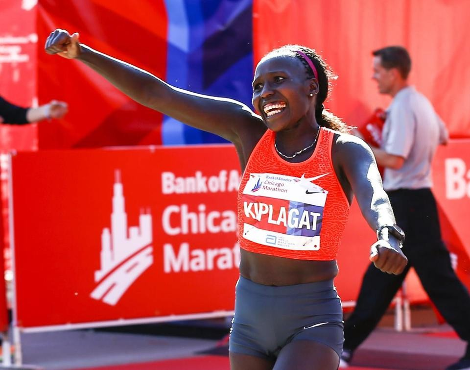 Two-time Chicago Marathon champ Florence Kiplagat is ready to reclaim her title after recovering from an injury