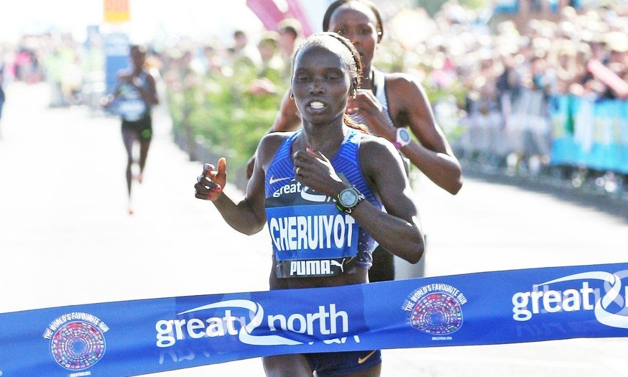 Olympic and World champion Vivian Cheruiyot will return to the Great North Run looking for another victory