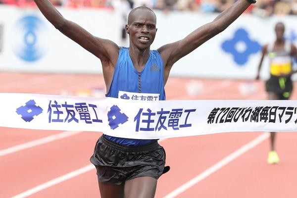 Erekiel Chebii Returns and is the one to beat at  Lake Biwa Mainichi Marathon