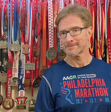 Mark Sullivan is running the Philadelphia Marathon for the 25th consecutive year