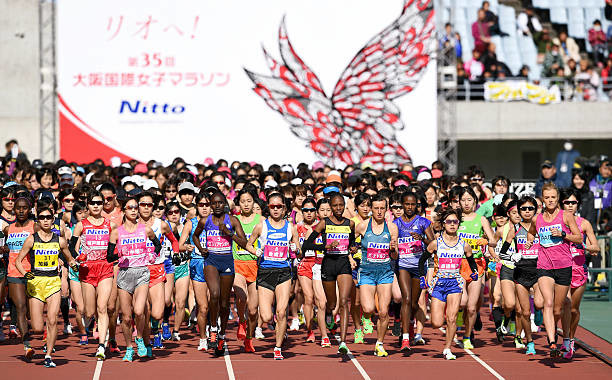 Yuko Ando commands the spotlight at Osaka Women´s Marathon