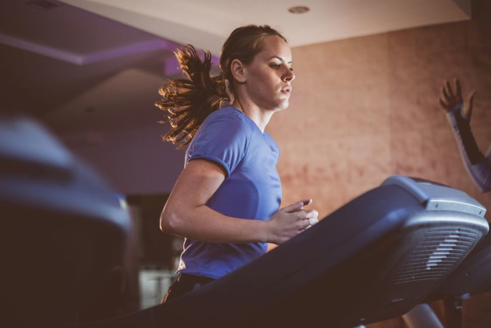 Does running on a treadmill change your stride?