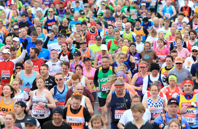 London Marathon runners who claimed they were called fat and slow during this year's race will receive free entry to next year's race, according to organizers