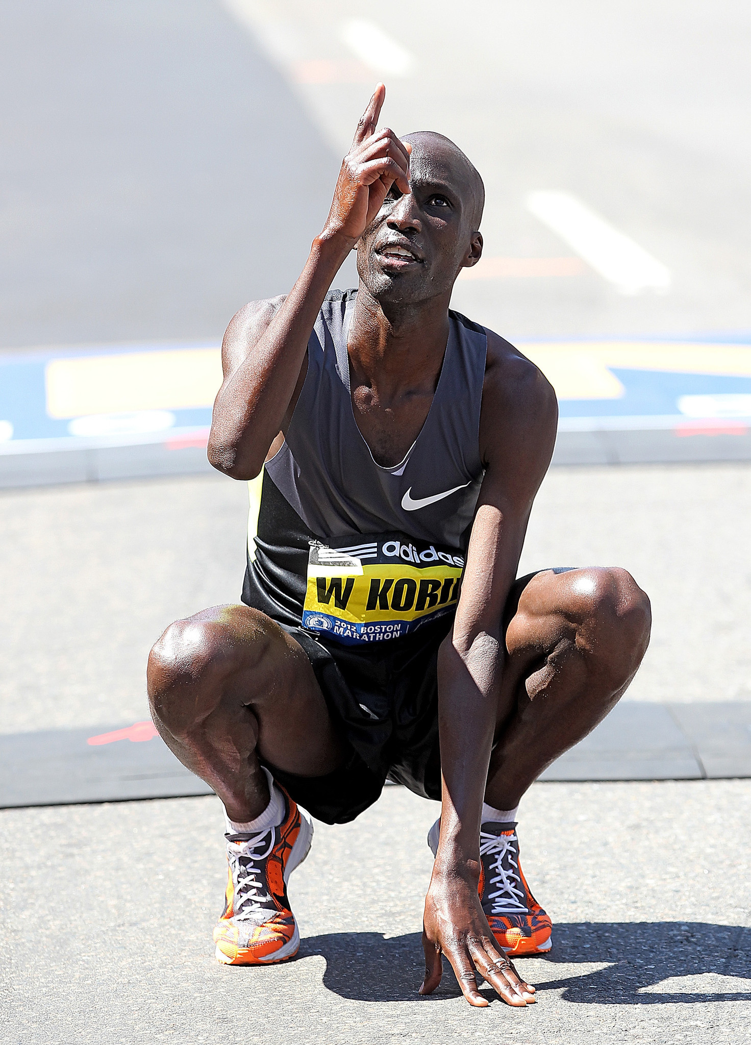 2012 Boston Marathon Champion Wesley Korir is returning this year in hopes of winning the 122nd Annual Marathon