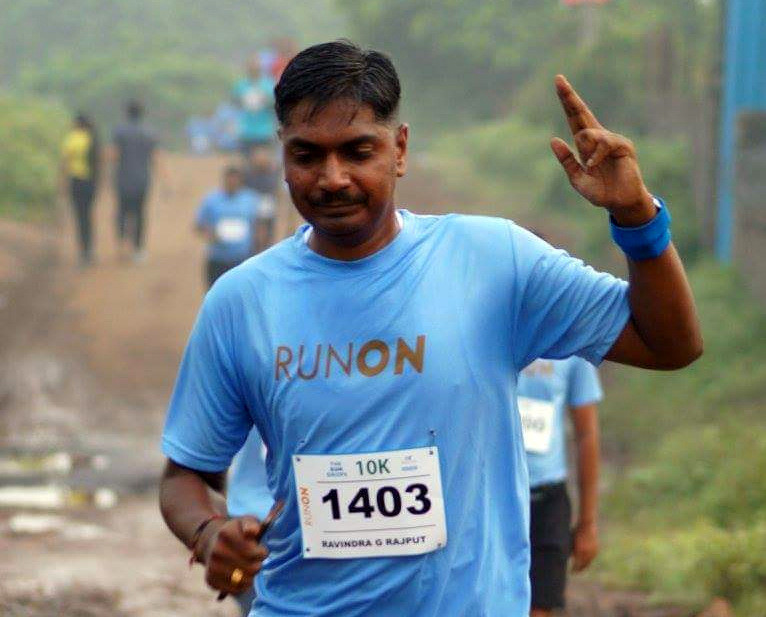 Global Run Challenge Profile: If it doesn't challenge you, it doesn't change you says Ravindra G Rajput