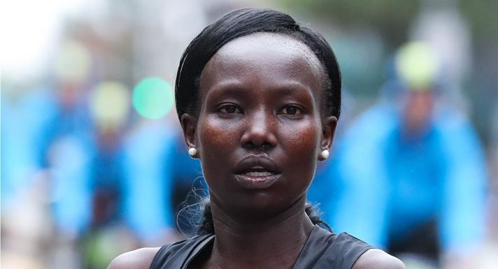 Kenya's Mary Keitany was voted the 2018 New York Road Runners Pro Performer of the Year