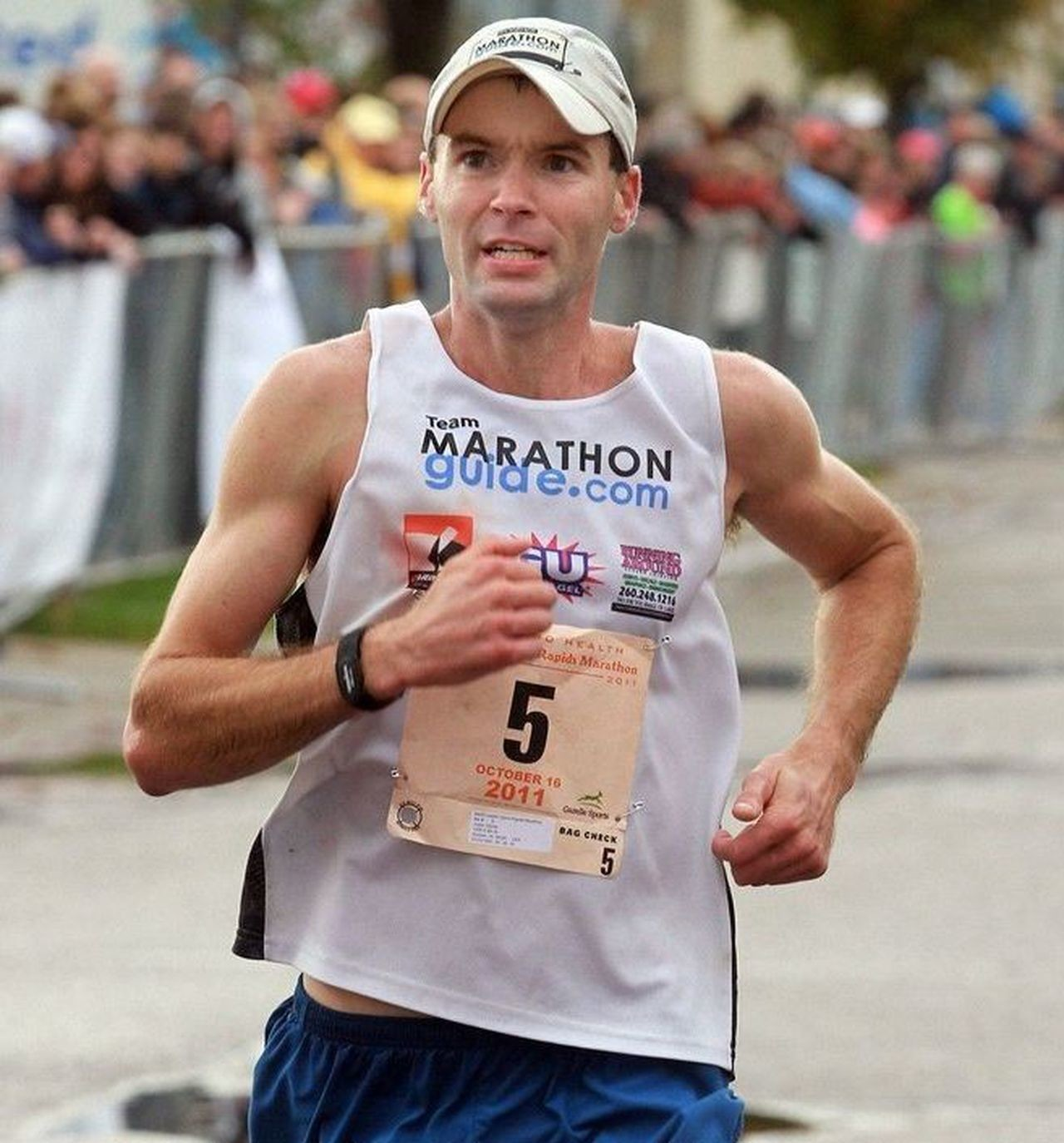 Justin Gillette has won more marathons than most people have entered, and he's hoping to win many more