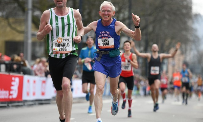 Gene Dykes is only the second person 70 plus to run a sub three hour marathon