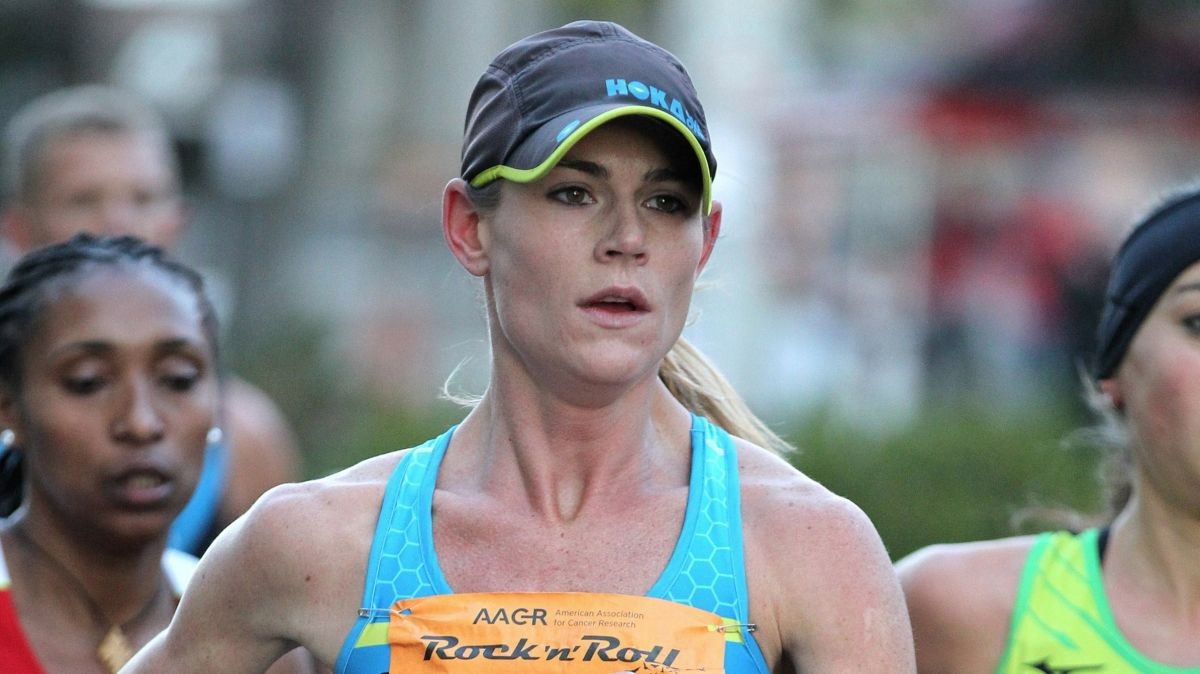 Kellyn Taylor, one of the top female marathoners, will compete in the 42nd annual Grandma's Marathon