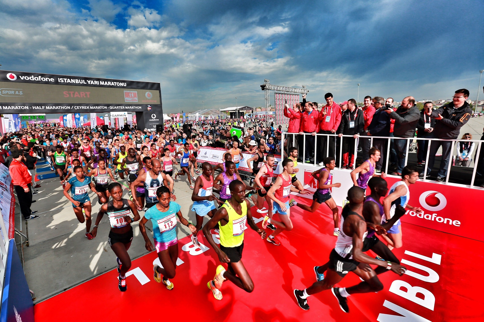 The Vodafone Istanbul Half Marathon, with the participation of 2,500 athletes, is set to be held on September 20.