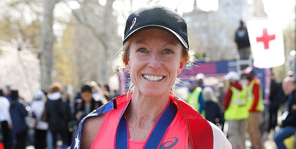 Deena Kastor is still getting American records and now owns the american W45 record in 8k