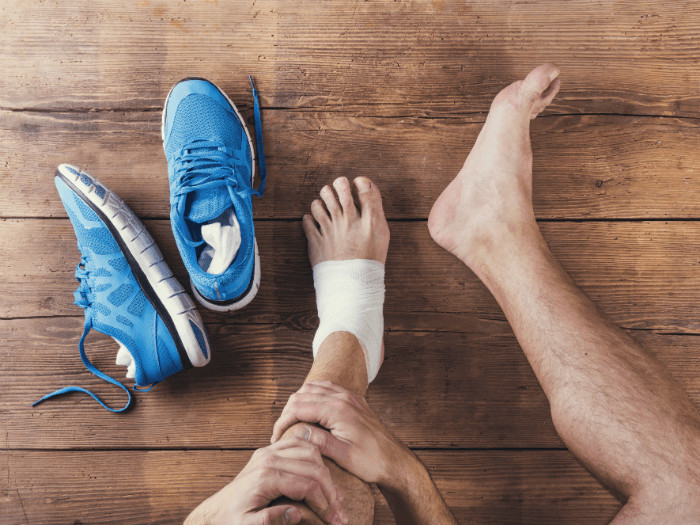 Stay fit despite an ankle or foot injury
