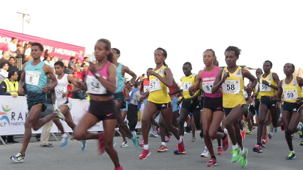 The RAK women's race should be as sensational as last year, being  one of the world's fastest half marathons