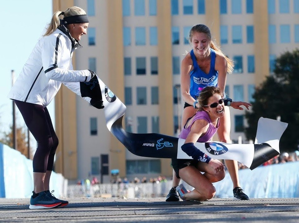 BMW Dallas Marathon defending champ Chandler Self wants to win again and run across the finish line this year