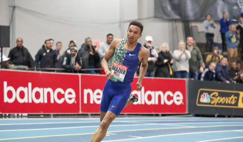Brazier and Ali kick off World Athletics Indoor Tour with dominant victories in Boston